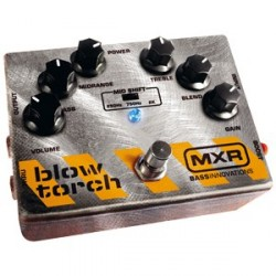 DUNLOP M181 MXR BASS BLOW TORCH PEDAL DISTORSION BAJO.