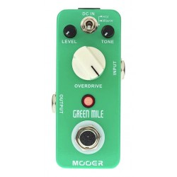 MOOER GREEN MILE PEDAL OVERDRIVE