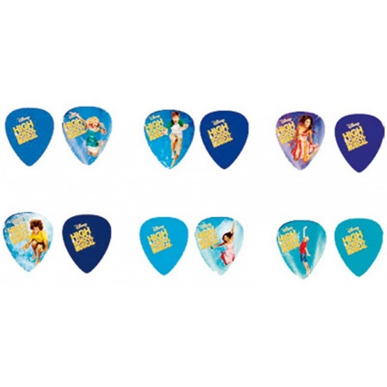 DISNEY HSMPIK6 HIGH SCHOOL MUSICAL PACK 6 PUAS INCLUYE TATOOS.