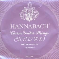 HANNABACH 9004MHT 4ª CUERDA GUITARRA ESPAÑOLA TENSION MEDIA FUERTE