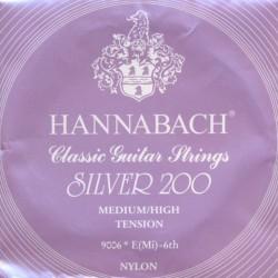 HANNABACH 9006MHT 6ª CUERDA GUITARRA ESPAÑOLA TENSION MEDIA FUERTE