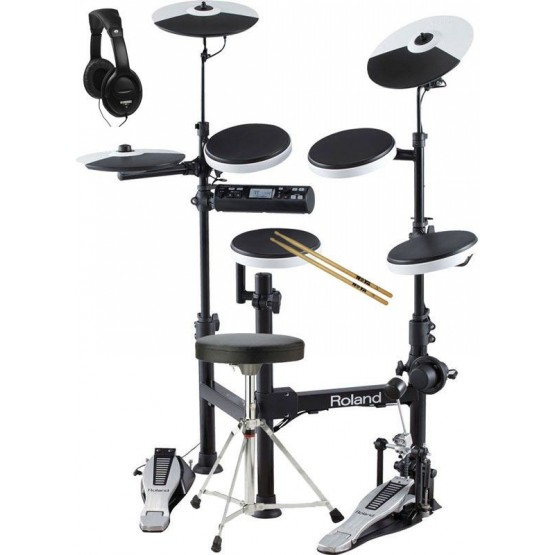 ROLAND -PACK- TD4KP BATERIA ELECTRONICA + PEDAL + ASIENTO + AURICULARES Y BAQUETAS