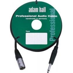 ADAM HALL KM3MP2BLK CABLE DE MICROFONO CON CONECTOR NEUTRIK 3 METROS NEGRO.