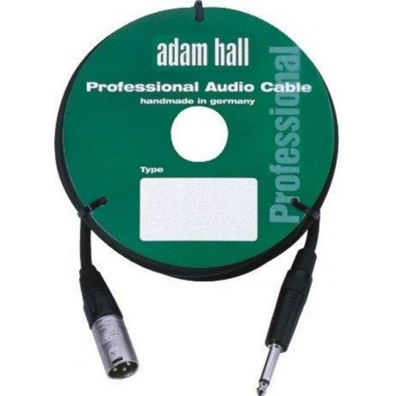 ADAM HALL KM3MP2BLK CABLE DE MICROFONO CON CONECTOR NEUTRIK 3 M NEGRO.