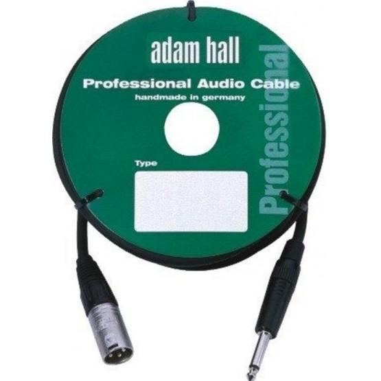 ADAM HALL KM3MP2BLK CABLE DE MICROFONO CON CONECTOR NEUTRIK 3 M NEGRO.