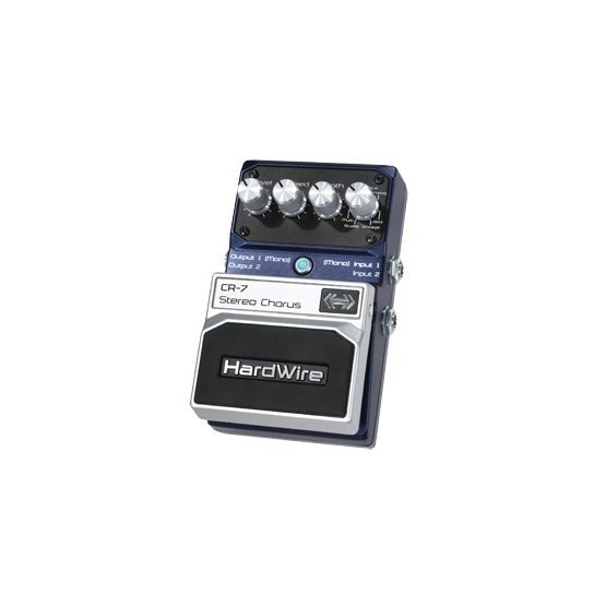 HARDWIRE CR7 PEDAL STEREO CHORUS.