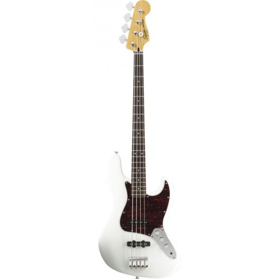 SQUIER VINTAGE MODIFIED JAZZ BASS IL BAJO ELECTRICO OLYMPIC WHITE