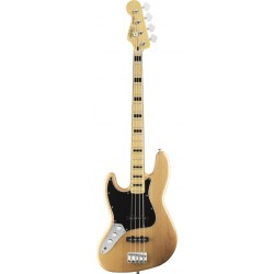 SQUIER VINTAGE MODIFIED JAZZ BASS 70S LEFT HANDED MN BAJO ELECTRICO NATURAL ZURDO