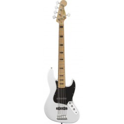 SQUIER VINTAGE MODIFIED JAZZ BASS V MN BAJO ELECTRICO OLYMPIC WHITE
