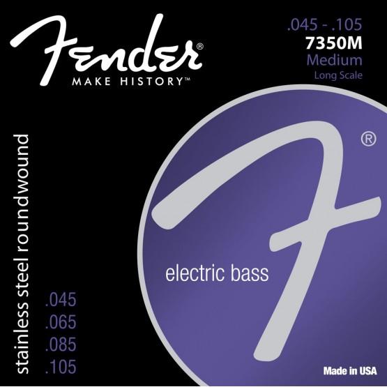 FENDER 0737350406 7350M STAINLESS STEEL RW LS 045105.