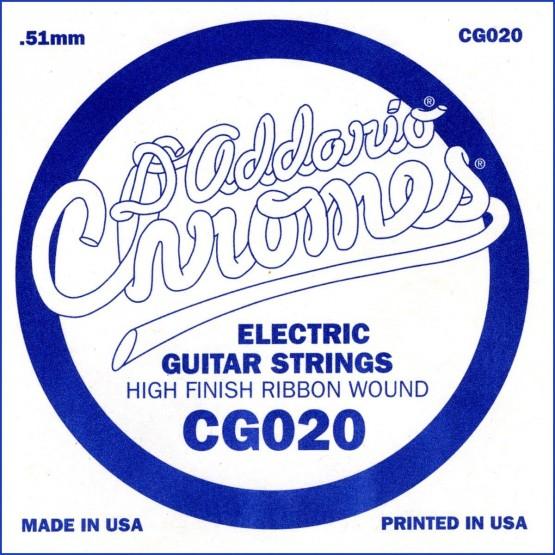 D'ADDARIO CG020 CUERDA GUITARRA ELECTRICA