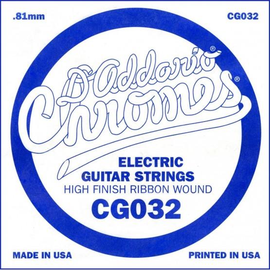 D'ADDARIO CG032 CUERDA GUITARRA ELECTRICA