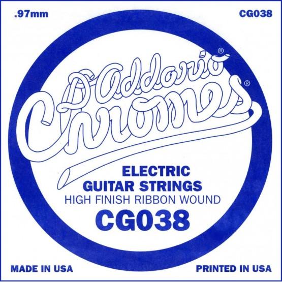 D'ADDARIO CG038 CUERDA GUITARRA ELECTRICA