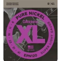 D'ADDARIO EPN120 NICKEL JUEGO CUERDAS GUITARRA ELECTRICA 009-041