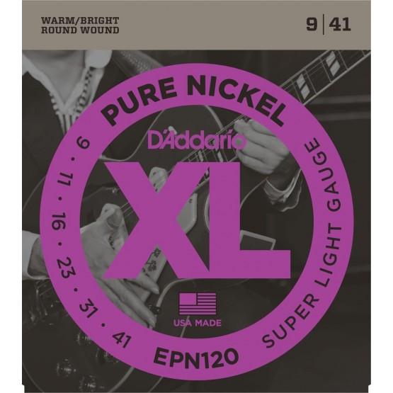 DADDARIO EPN120 NICKEL JUEGO CUERDAS GUITARRA ELECTRICA 009-041