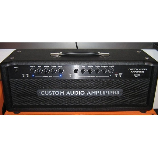 CUSTOM AUDIO OD100 SE PLUS AMPLIFICADOR. DEMO.