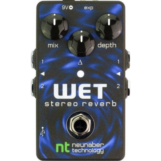 NEUNABER WET STEREO REVERB PEDAL