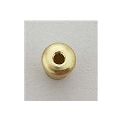 ALL PARTS AP0188002 STRING THROUGH BODY TOP FERRULES (6 PIECES) GOLD 5/32