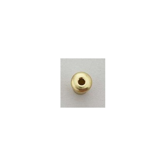 ALL PARTS AP0188002 STRING THROUGH BODY TOP FERRULES (6 PIECES) GOLD, 5/32