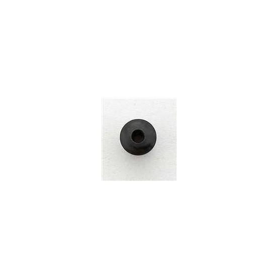 ALL PARTS AP0188003 STRING THROUGH BODY TOP FERRULES (6 PIECES) BLACK 5/32