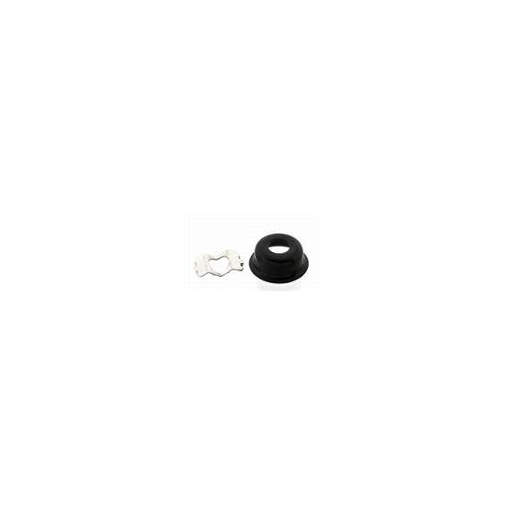 ALL PARTS AP0275003 CUP JACKPLATE FOR TELE, WITH CLIP, BLACK