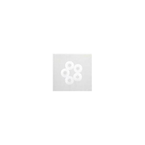 ALL PARTS AP0480025 GUIA DE CUERDAS BLANCA DE PLASTICO. UNIDAD