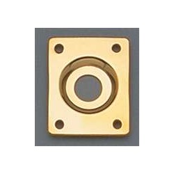 ALL PARTS AP0637002 RECTANGULAR JACKPLATE GOLD