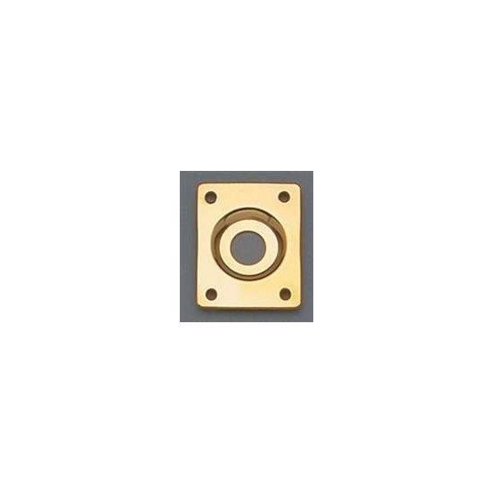 ALL PARTS AP0637002 RECTANGULAR JACKPLATE, GOLD