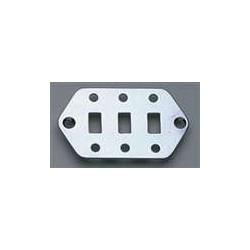 ALL PARTS AP0656010 LOWER SWITCH PLATE FOR JAGUAR, CHROME