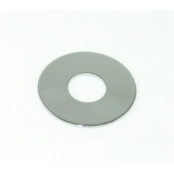 ALL PARTS AP0663010 RHYTHM/TREBLE RING FOR TOGGLE SWITCH, CHROME