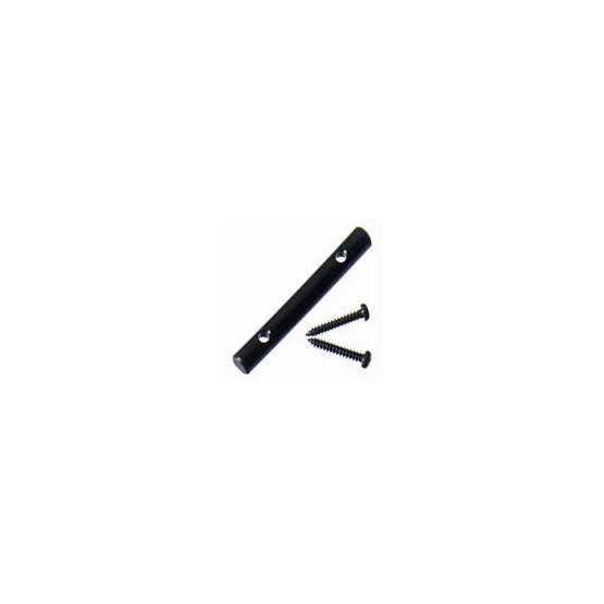 ALL PARTS AP0724003 STRING BAR FOR FLOYD ROSE STYLE LOCKING NUTS, WITH SCREWS, BLACK