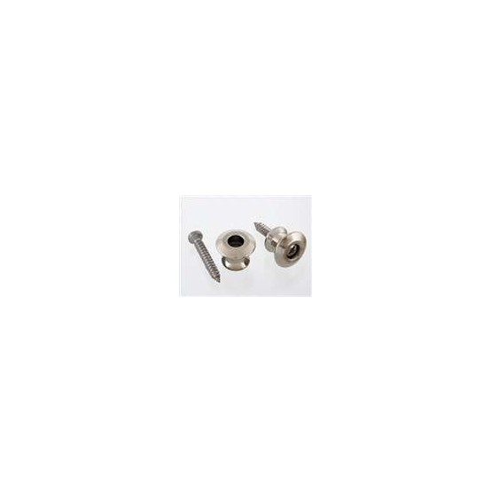 ALL PARTS AP6582001 BUTTONS ONLY FOR DUNLOP STRAP LOCK SYSTEM WITH SCREWS (2) NICKEL