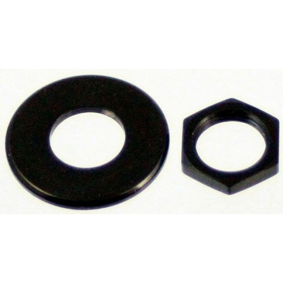 ALL PARTS AP6691003 NUT AND WASHER FOR SCHALLER STRAP LOCK SYSTEM (2 EACH), BLACK