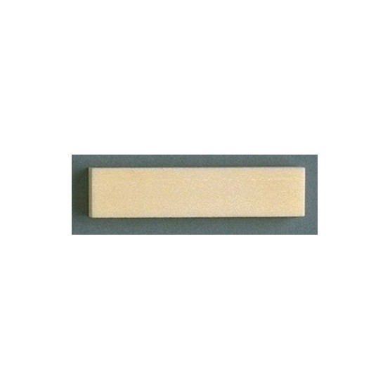 ALL PARTS BN0204000 BONE NUT BLANK 2-1/16 X 3/8 X 1/4 SLANT CUT