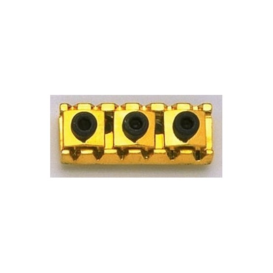 ALL PARTS BP0028002 FLOYD ROSE STYLE LOCKING NUT, 1-11/16 WIDE, GOLD, WITH HARDWARE.