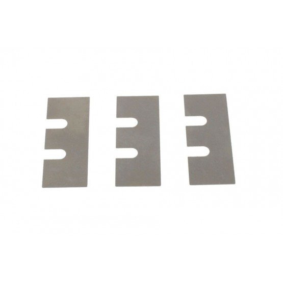 ALL PARTS BP0426001 SHIM SET FOR FLOYD ROSE LOCKING NUTS 2 PIECES OF EACH 1 MM 2 MM 3MM