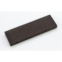 ALL PARTS BP08520E0 EBONY BRIDGE BLANK, 7 X 2-1/16 X 15/32.