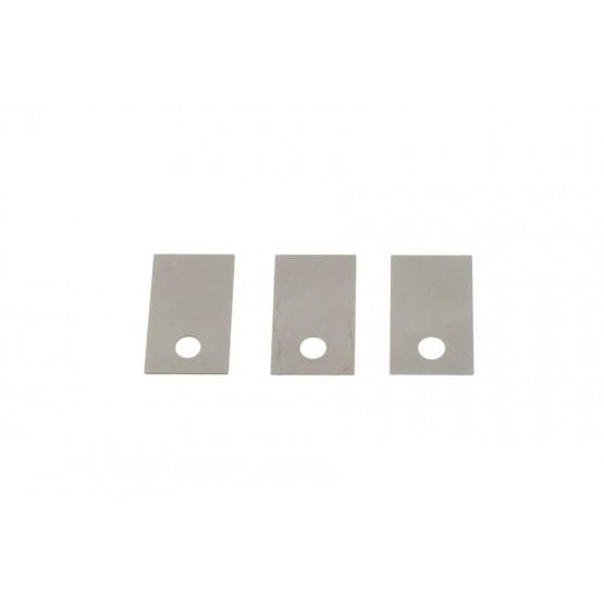 ALL PARTS BP2214001 SHIM SET FOR LOCKING SADDLES (SET OF 12 PIECES)
