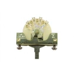 ALL PARTS EP0075000 3-WAY SWITCH WITH SCREWS FOR TELE OR STRAT THE ORIGINAL CRL SWITCH