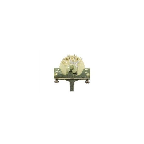 ALL PARTS EP0075000 3-WAY SWITCH, WITH SCREWS FOR TELE OR STRAT, THE ORIGINAL CRL SWITCH