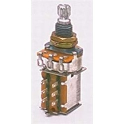 ALL PARTS EP0225000 PUSH/PULL 25K AUDIO TAPER POTENTIOMETER WITH NUT AND WASHER