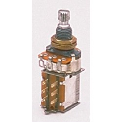ALL PARTS EP0285000 250K PUSH/PULL AUDIO TAPER POTENTIOMETER WITH NUT AND WASHER