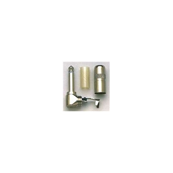 ALL PARTS EP0289010 1/4 RIGHT ANGLE PHONO PLUG, SWITCHCRAFT 226, HEAVY DUTY STYLE