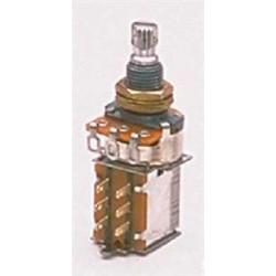 ALL PARTS EP0346000 500K PUSH/PULL LINEAR TAPER POTENTIOMETER WITH NUT AND WASHER