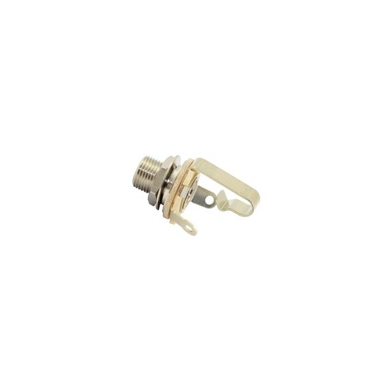 ALL PARTS EP055L000 1/4 INPUT JACK SWITCHCRAFT 11L WITH 3/8 LONG THREADED
