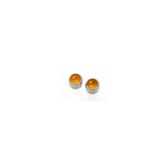 ALL PARTS EP0826022 PANEL LIGHT LENSES FOR FENDER AMPS (2 PIECES) AMBER