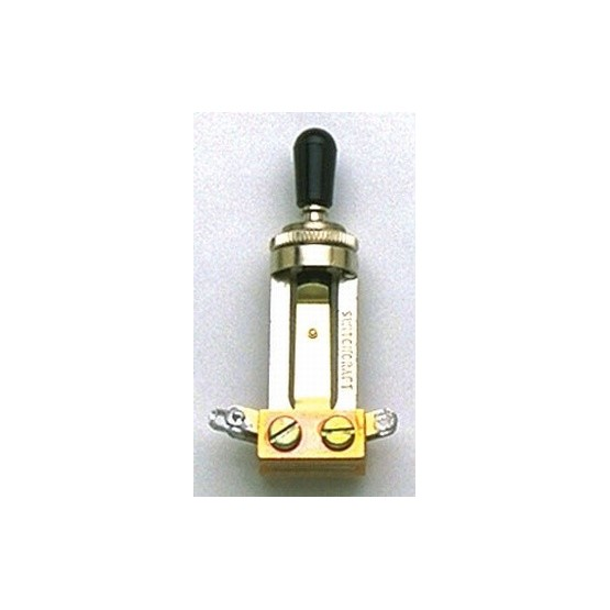 ALL PARTS EP4367000 SWITCHCRAFT STRAIGHT TOGGLE SWITCH, WITH KNOB
