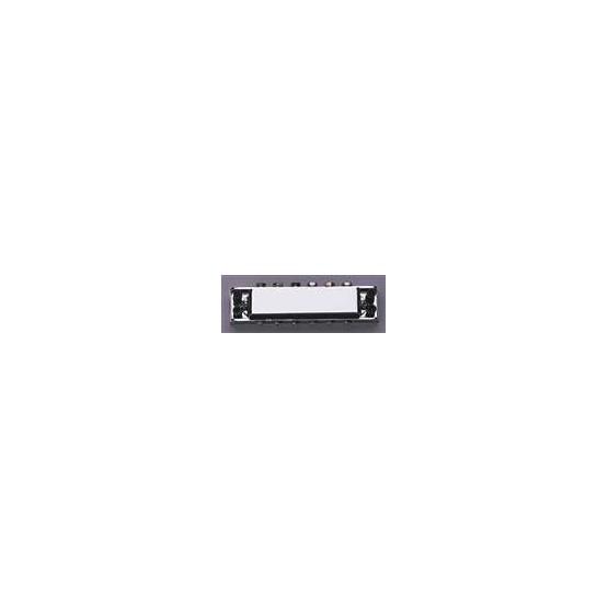 ALL PARTS GB0515010 RICKENBACKER STYLE TUNEMATIC BRIDGE CHROME