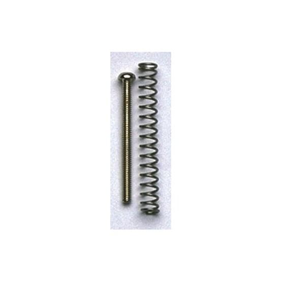 ALL PARTS GS0012001 HUMBUCKING PICKUP MOUNTING SCREWS (4) PHILLIPS NICKEL