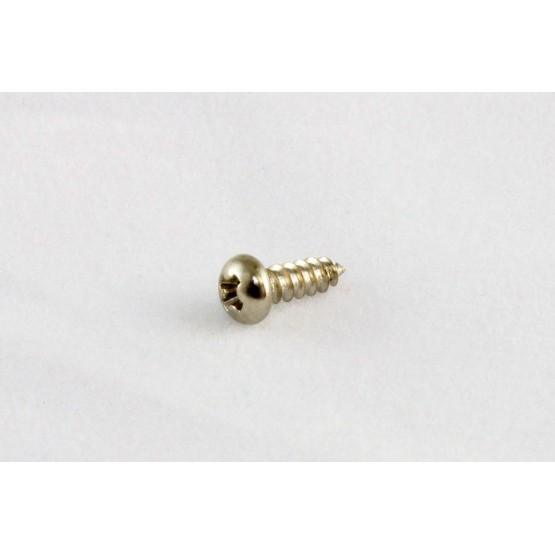 ALL PARTS GS3206001 TRUSS ROD COVER SCREWS PHILLIPS HEAD, NICKEL, 2 X 3/8